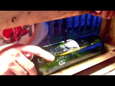 Como cortar una botella de vidrio.m4v