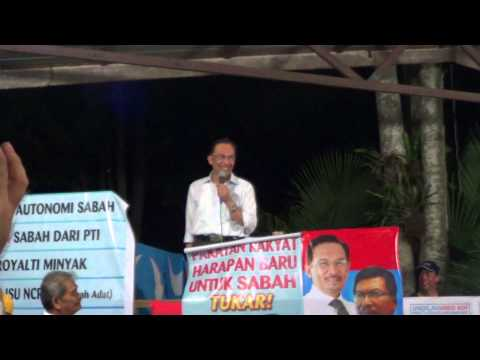 Anwar Ibrahim at Selaud, Riverview Restaurant 27/4/13