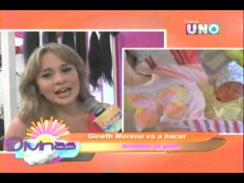 divinas   gineth moreno regresa a la tv