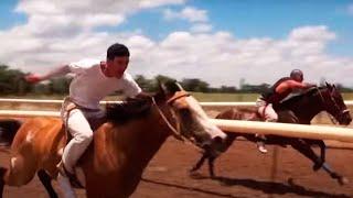 Carreras de caballos en Chupaderos de Cabrales (Fresnillo, Zacatecas)