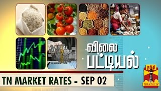 Vilai Pattiyal 02-09-2014 Market Rates of Essential Commodities in TN (02/09/14) – Thanthi TV