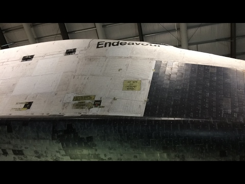 Space Shuttle Endeavour California