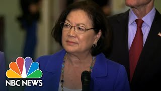 On Kavanaugh Debate, Senator Mazie Hirono Tells Men Of Country To 'Shut Up And Step Up' | NBC News - NBCNEWS