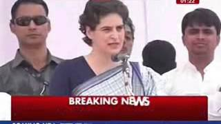 Priyanka Gandhi addresses public rally in Rae Bareli, takes a dig at Modi - ITVNEWSINDIA