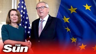 Pelosi pledges NATO support in Brussels - THESUNNEWSPAPER