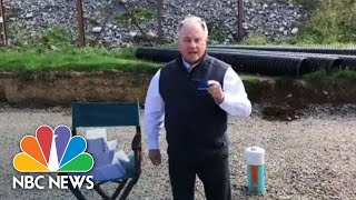 PA Governor Candidate: 'I'm Going To Stomp All Over Your Face With Golf Spikes' | NBC News - NBCNEWS