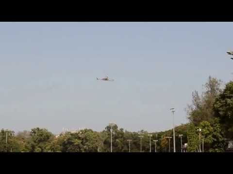 First ever tricopter of IIT-Bombay.