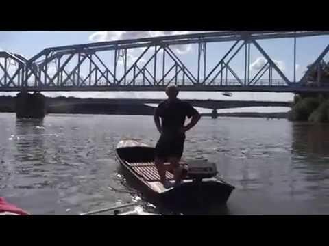 APATIN - MARINA Voznja Dunavom od Apatina pa sve do Bogojeva( 3.deo filma )