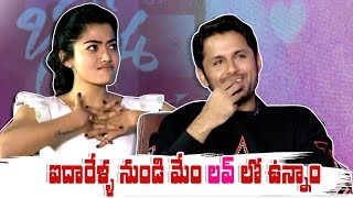 Nithin Funny Reaction On Rashmika Mandanna About Her Marriage | Bheeshma Interview | IG Telugu - IGTELUGU