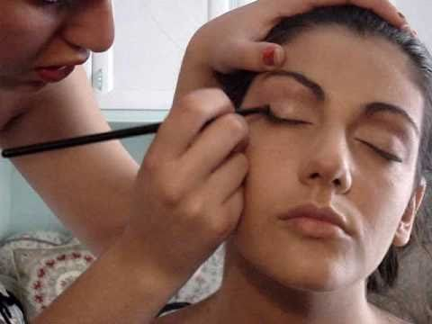 Make up tutorial: trucco sposa su modella. Seconda parte.