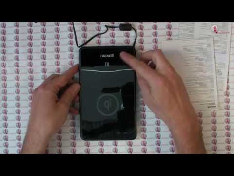 Maxell AIR Voltage Wireless QI Unboxing