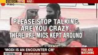 Baba Ramdev caught on camera discussing cash inflow during polls - NEWSXLIVE
