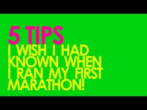 5 TIPS FOR RUNNING YOUR FIRST MARATHON - GingerRunner.com
