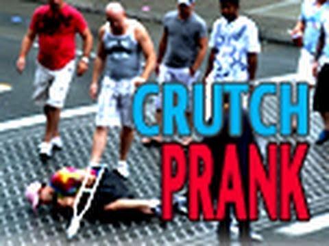 Crutch Fail Prank