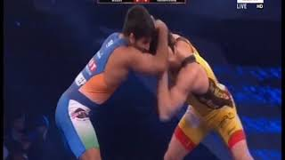 PWL 3 Day 13: Sandeep Tomar Vs Naveen Kumar at Pro Wrestling League season 3 | Highlights - ITVNEWSINDIA