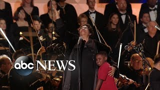 The moment Aretha Franklin stepped in for Pavarotti - ABCNEWS