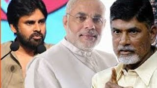 Modi,Pawan And CBN on One Stage Today - TV5NEWSCHANNEL