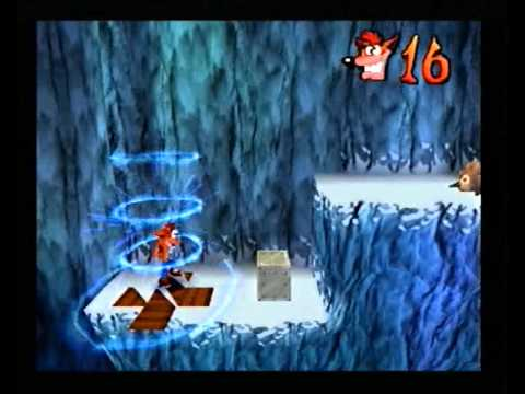 "Crash Bandicoot 2 - ""Extra boxes"" glitch in Cold Hard Crash"