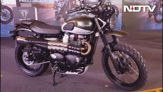 Mahindra XUV300, Honda CB300R, Triumph Street Twin & Street Scrambler, Steelbird SBA-1 HF Helmet - NDTV