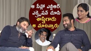 Sirivennela said that after watching NTR's expression: Trivikram || Aravindha Sametha - IGTELUGU