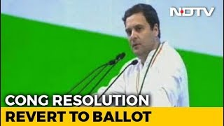 """""""Go Back To Paper Ballots"""": Congress Wants Voting Machines To Be Dumped - NDTV"""