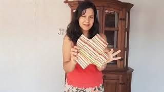 Casa dos Aposentados/as: Porta-Retrato de Origami em tecido com Pâmela Raizia.
