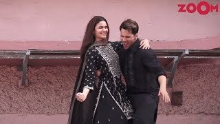 'First Class' song launch of Kalank   Alia Bhatt, Varun Dhawan   Bolly Quickie - ZOOMDEKHO