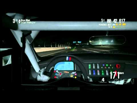 Shift 2 Unleashed: Night Track Gameplay