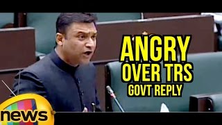 Akbaruddin Owaisi Angry Over TRS Govt Reply To His Questions in TS Assembly | Mango News - MANGONEWS