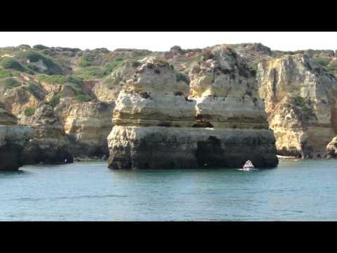 Algarve   Praia do Nudismo Passeio de Barco