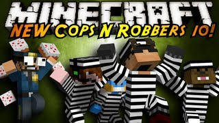 Minecraft Mini-Game : THE NEW COPS N ROBBERS ROUND 10!