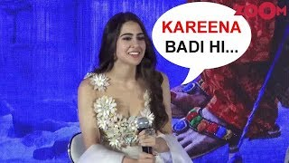 Sara Ali Khan on lessons from Kareena Kapoor & Saif Ali Khan - ZOOMDEKHO