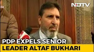PDP Expels Altaf Bukhari For Anti-Party Activities - NDTV