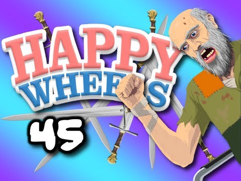 SUSAN WANTS TO KISS Happy Wheels w ChimneySwift11 45 SWORD THROWS HD