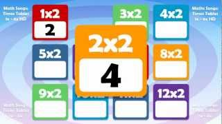 2 Times Table Math Song, DreamEnglish
