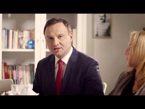 Spot Andrzeja Dudy