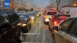 How Friday's expected snow could affect your commute home - WASHINGTONPOST