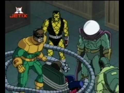 """Spiderman Odcinek 15 """"Ostatnia bitwa Podstępnej Szóstki"""" (1/2)"""