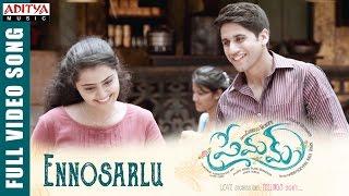 Ennosarlu Full Video Song || Premam Full Video Songs || Naga Chaitanya, Shruthi Hassan, Anupama - ADITYAMUSIC