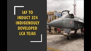 IAF agrees to induct 324 indigenously developed light combat aircraft Tejas - ZEENEWS