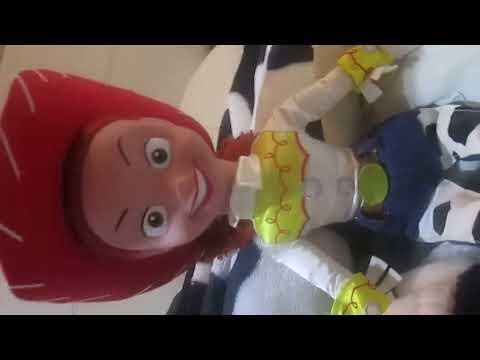 Muñecos Del Comisario WOODY Sheriff Y Jessie La Vaquerita De Toy Story Originales(SMITH TAMAYO)
