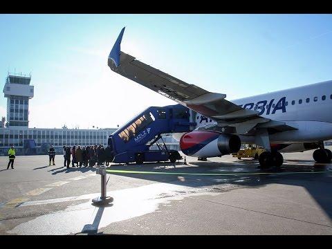 Air Serbia Belgrade - Zagreb inaugural flight