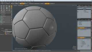 Luxology Modo - Modeling a perfect Soccerball in less than 5 minutes