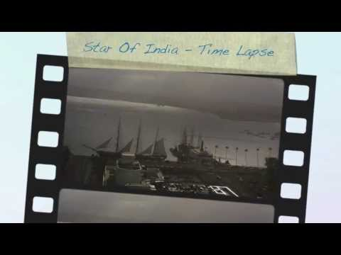 San Diego Bay Time Lapse - Star Of India Overnight