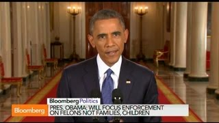 Obama to Congress: Pass an Immigration Bill - BLOOMBERG