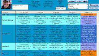 Chiro quickcharts chiropractic software system overview tutorial