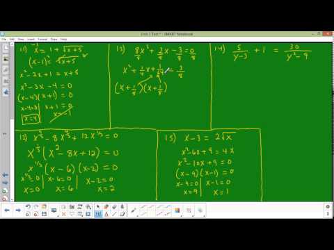 Unit test 3 numbers 11 through 15