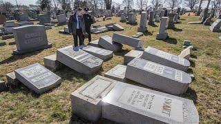 Police Investigate Attack at Jewish Cemetery in Philadelphia - WSJDIGITALNETWORK