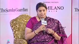 Women of Steel Summit: Smriti Irani says, Women having started taking charge - NEWSXLIVE