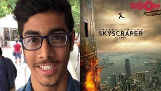 'Skyscraper' Public Movie Review Out | Dwayne Johnson | Hit Or Flop? - ZOOMDEKHO